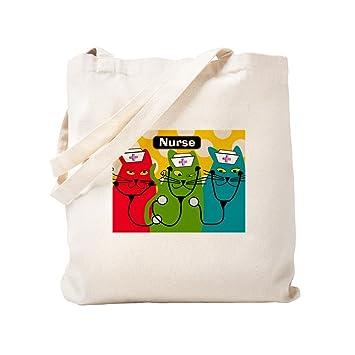 fe051ecf33de CafePress - Black Cats NURSES 3.PNG - Natural Canvas Tote Bag, Cloth ...