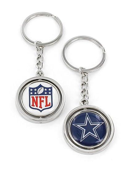 83814079d Amazon.com : Aminco International NFL-SK-741-17 Spinning Key Chain ...