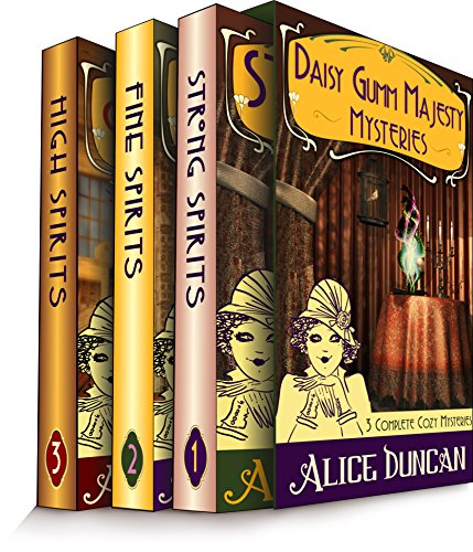 The Daisy Gumm Majesty Boxset (Three Complete Cozy Mystery Novels in One): Historical Mystery (Daisy Gumm Majesty Mystery) cover
