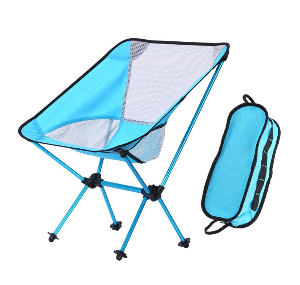 Camping Stuhl Leichte Klapp Mond Stuhl mit Tragetasche Für Wandern, Angeln, Beach Heavy Duty 330 £ Kapazität