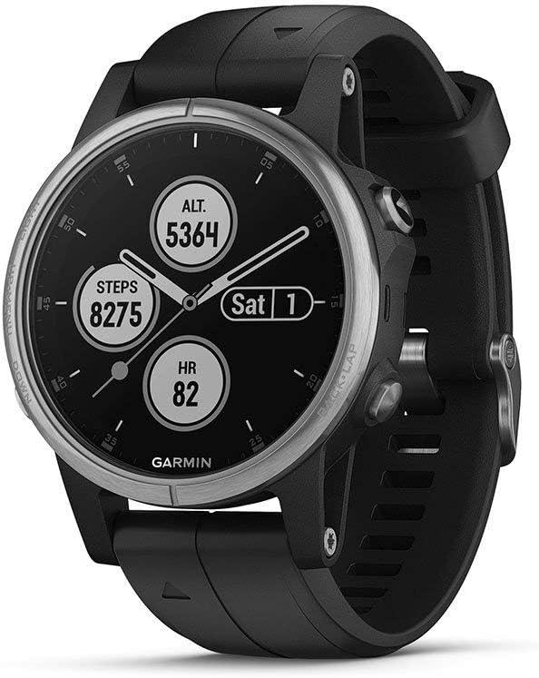 Garmin Fenix 5S Plus - Reloj GPS multideporte, color negro: Amazon.es: Deportes y aire libre