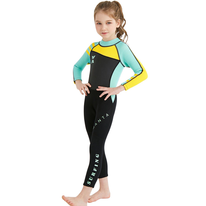 Boys Girls Rash Guard One Piece Neoprene Swimsuits Gogokids Kids Wetsuit