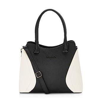 f05694d0a64 Pierre Cardin Women's Tote Handbag Black: Amazon.in: Shoes & Handbags