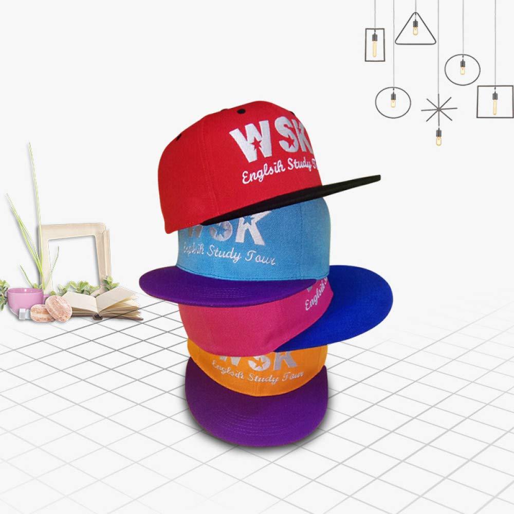 woyaochudan Sombrero de Hip-Hop Plano a lo Largo del Tablero de ...
