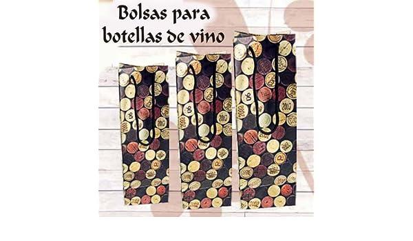 Bolsas para botellas de vino boda 3/8L (37cl) PACK 50 ...
