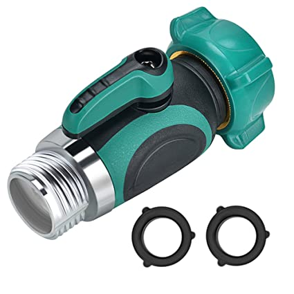 Garden Hose Shut Off Valve, Yuelife Connect Outside Spigot Friendly Faucet  Extension   With Smooth