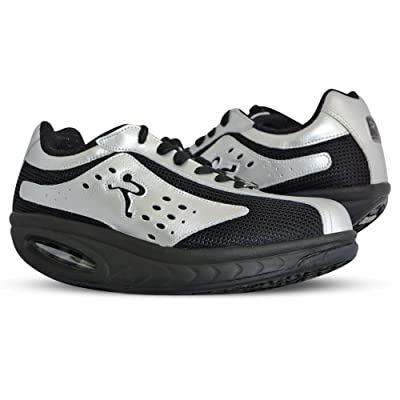 Ryn Sport Black Athletic Walking Shoes - Unisex | Walking