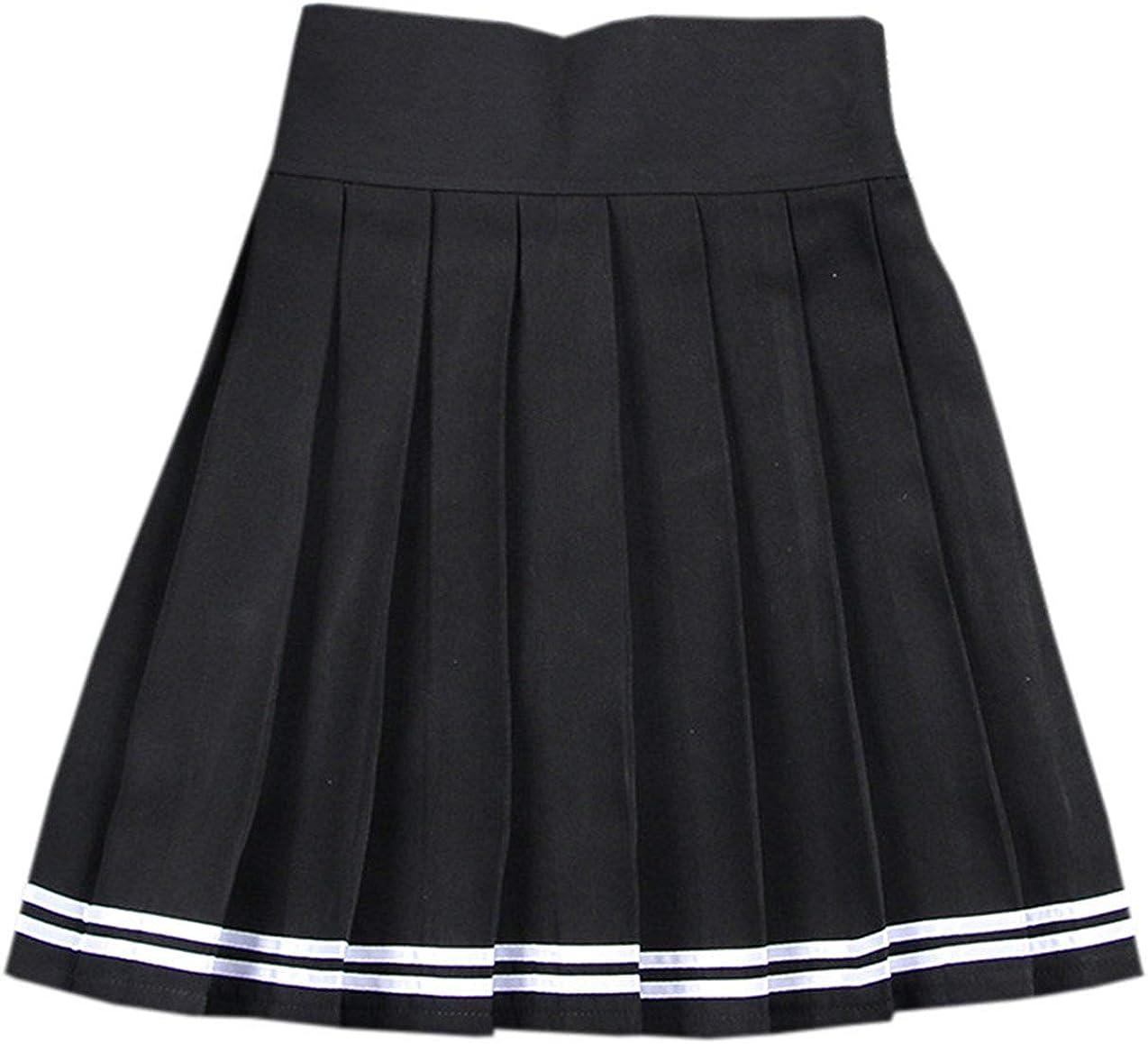 NAWONGSKY Women's Pleated Skirt, XS-XXL