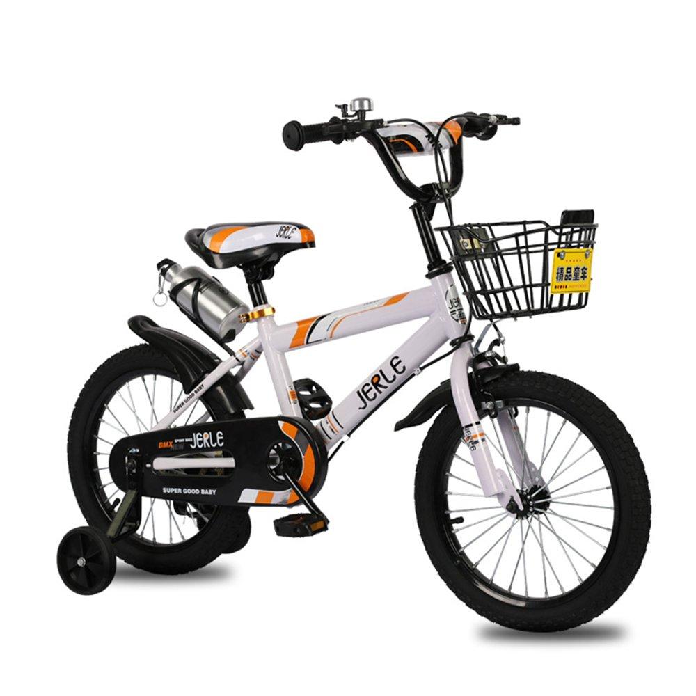 子供の自転車、赤ちゃん2-3-4-6歳の少年12-18インチのベビーカーの自転車 ( 色 : 白 , サイズ さいず : 16 inches ) B07CNYHL7K 16 inches|白 白 16 inches