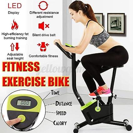 Bossik - Bicicleta estática de ejercicio interior, bicicleta de ...