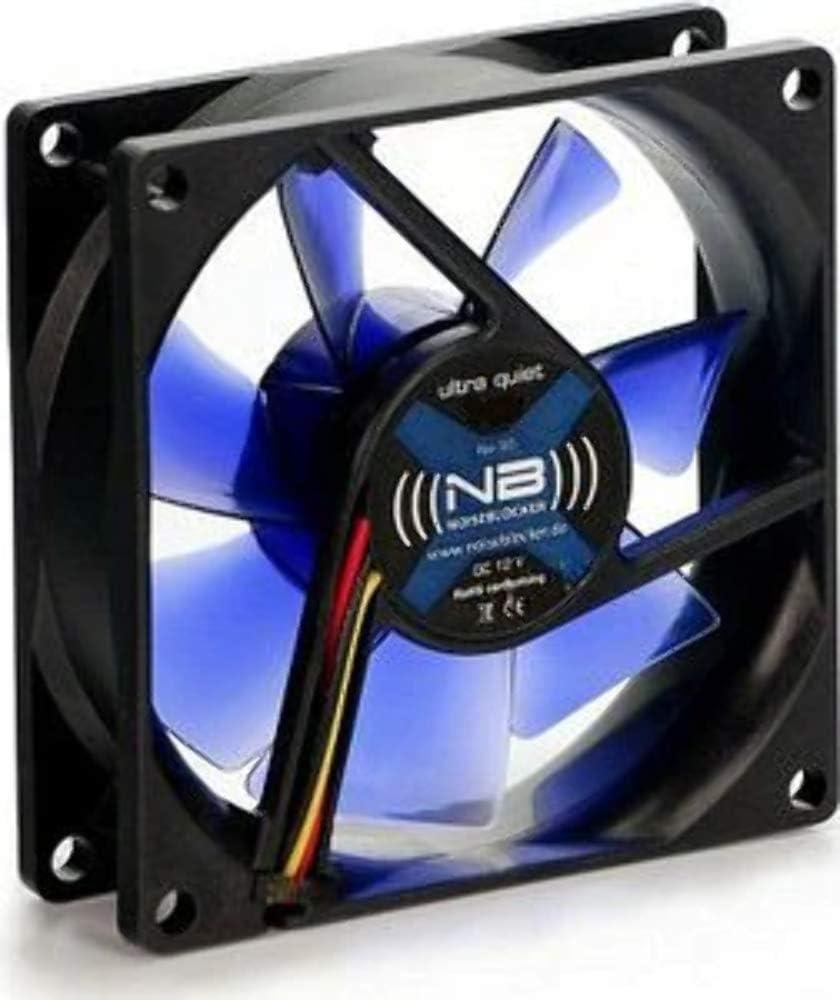 Noiseblocker Mini Pc Gehäuselüfter Black Silent Pc Fan Xr2 Mini 12v Lüfter 60x60x25 Pc Lüfter 60mm
