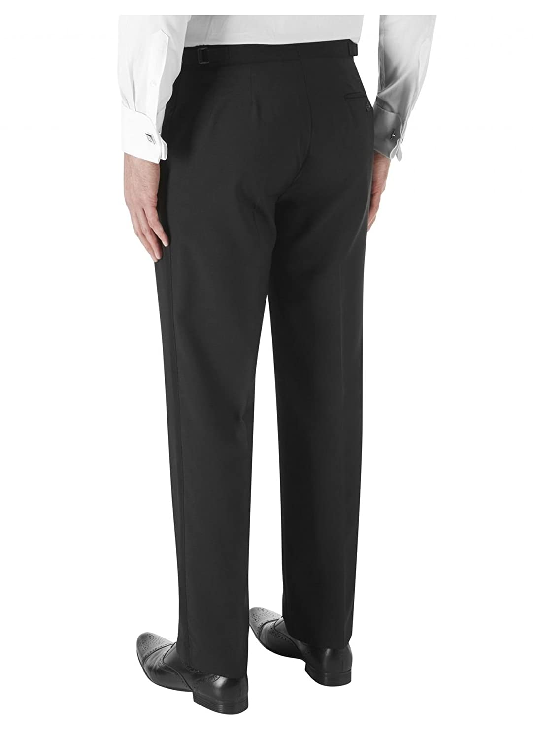 SKOPES Wool Blend Latimer Dinner Suit Trousers in Black in Size 34 To 62 S//R//L