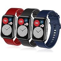 Zapasowe paski kompatybilne z Huawei Smart Watch Fit 2, silikonowy zamiennik paska na nadgarstek dla mężczyzn kobiet