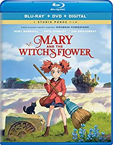 Cover Image for 'Mary and the Witch's Flower [Blu-ray + DVD + Digital]'