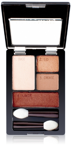 Maybelline Expert Wear Eyeshadow Quads, Autumn Coppers, 0.17 oz. - Copper Color Foil