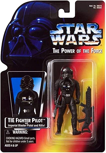 1995 Star Wars Power of the Force Imperial TIE Fighter Pilot