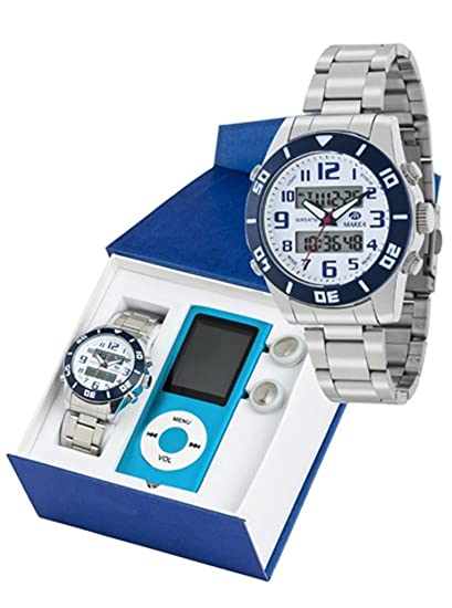 Reloj marea niño b35281/3 analogico digital con REPRODUCTOR MP4: Amazon.es: Relojes