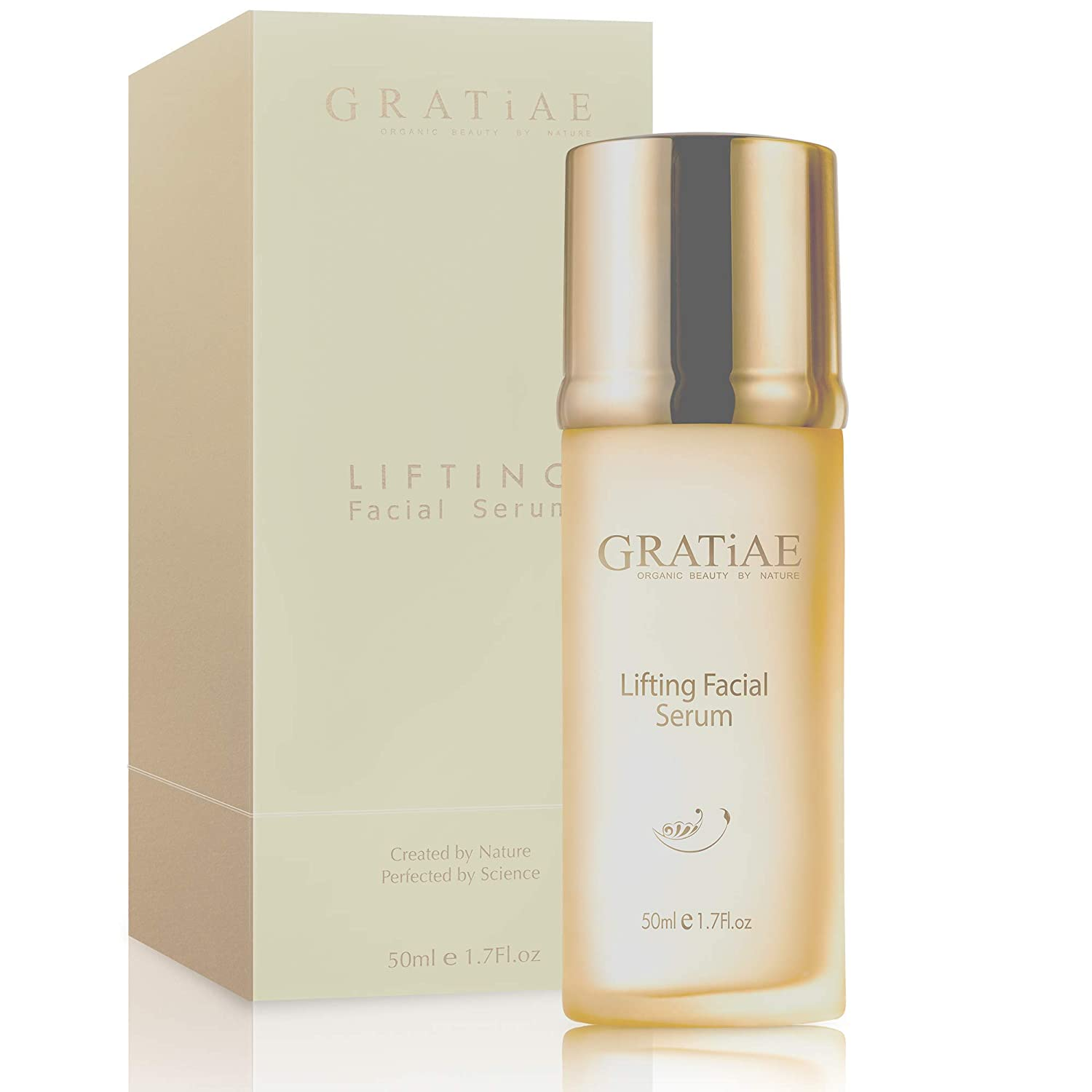 Gratiae Organics Lifting Facial Serum, Pure-Highest Quality, Anti-Aging, Moisturizing, Non-greasy, treatment for wrinkles 1.7 fl.oz