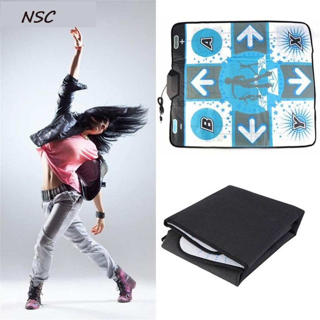 National style carpet Sports Single Non-slip Dance Mat Pad HD USB Interface Computer Dedicated Thickening Home Weight Loss Dancing Machine