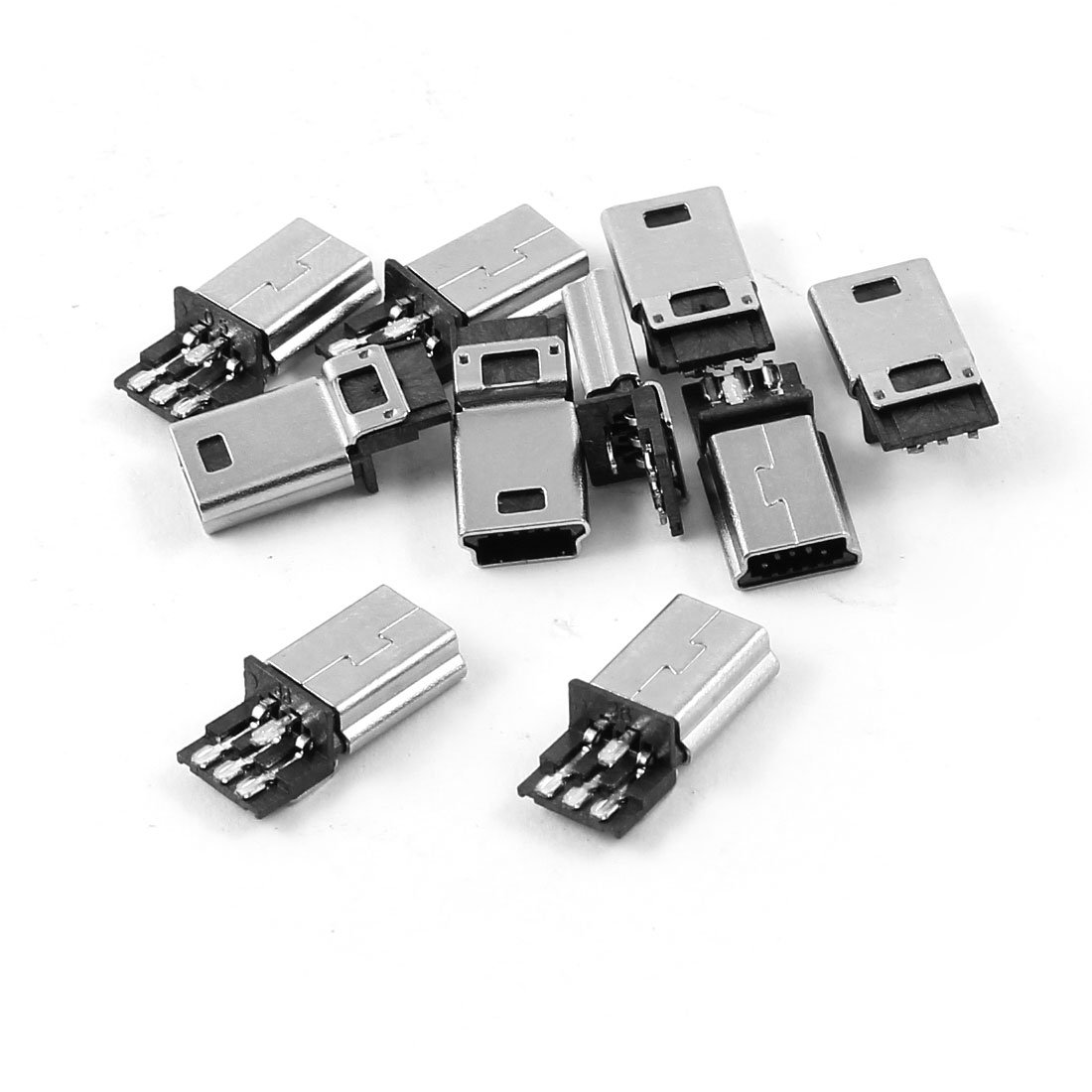 USB Buchse Typ Mini 5-polig 90° abgewinkelt USB 2.0 Einbaubuchse SMD SMT