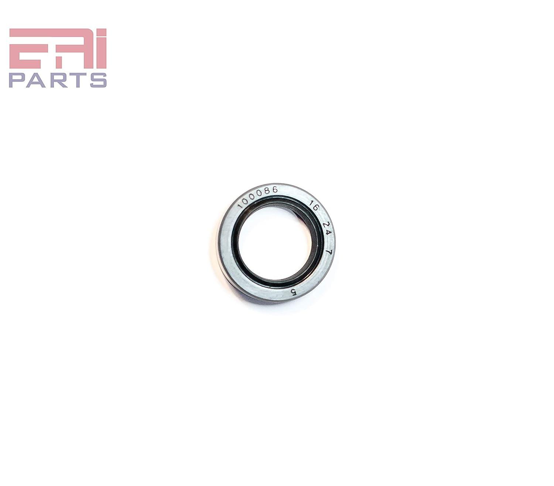 5//8x1 1//4x1//4 EAI Double Lip w//Garter Spring Single Metal Case w//Nitrile Rubber Coating Oil Seal 0.625x1.250x0.250 Oil Seal Grease Seal TC