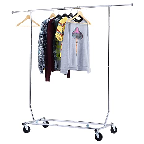 Amazon.com: TANGKULA - Perchero para ropa (plegable, con ...