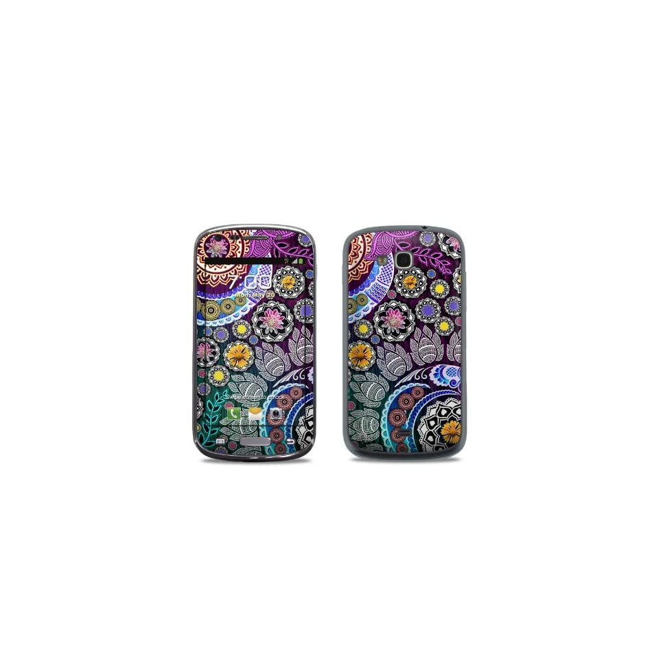 Mehndi Garden Design Protective Decal Skin Sticker (Matte Satin Coating) for Samsung Galaxy Axiom SCH R830 Cell Phone Cell Phones & Accessories