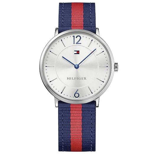 Tommy Hilfiger Reloj Analógico para Hombre de Cuarzo con Correa en Ninguno 7613272225823: Amazon.es: Relojes