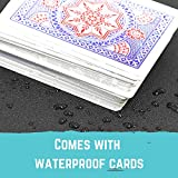 Polar Whale Floating Medium Poker Table Game Tray
