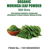 Perennial Lifesciences Organic Moringa Leaf Powder 500 Gm