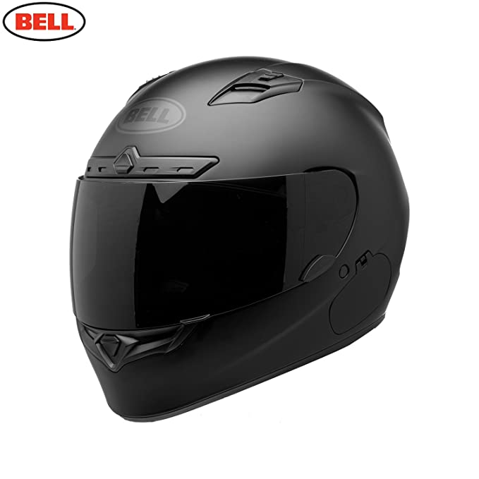 7093141 - Bell Qualifier DLX Motorcycle Helmet XS Blackout Matt Black