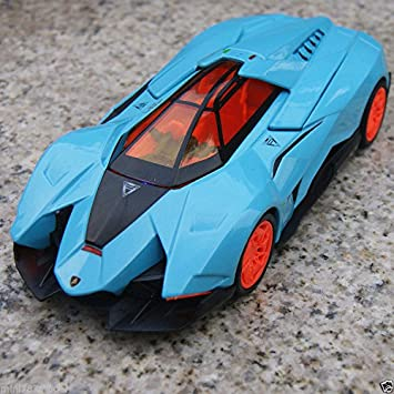 Lamborghini Egoista 1:32 Cars Model Toy Car Sound U0026 Light Kids Gift Light  Blue