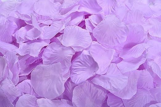 La Tartelette Silk Rose Petals Wedding Flower Decoration 4000 Pcs, Burgundy LTCS-00120