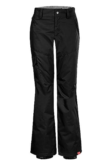 7d45fb3fca APTRO Women s Outdoor Insulated Snow Pants Windproof Waterproof Ski Pants  1421 Black XS