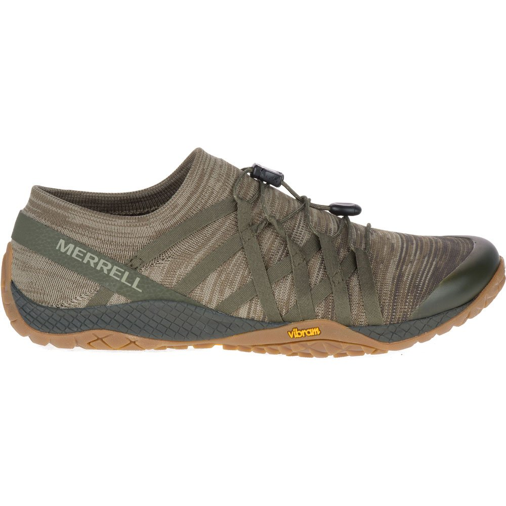 Merrell Men's Glove 4 Trail Runner B07D5P5LC7 14 D(M) US|Dusty Olive