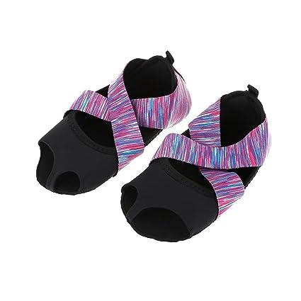 Alomejor Calzado de Yoga y Calcetines de Yoga para Mujeres ...