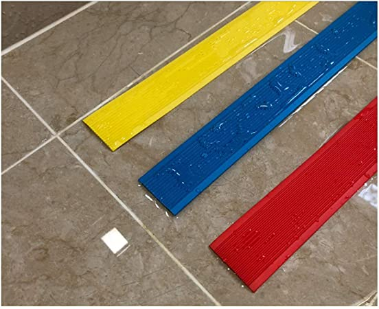 Cinta Antideslizante, Cinturón Antideslizante para Escaleras Autoadhesivo,Pisos Lisos y Escaleras en Jardines de Infantes,Proteger la Seguridad de los Ancianos, Niños y Mascotas.(Rojo) (Size : 40M): Amazon.es: Hogar