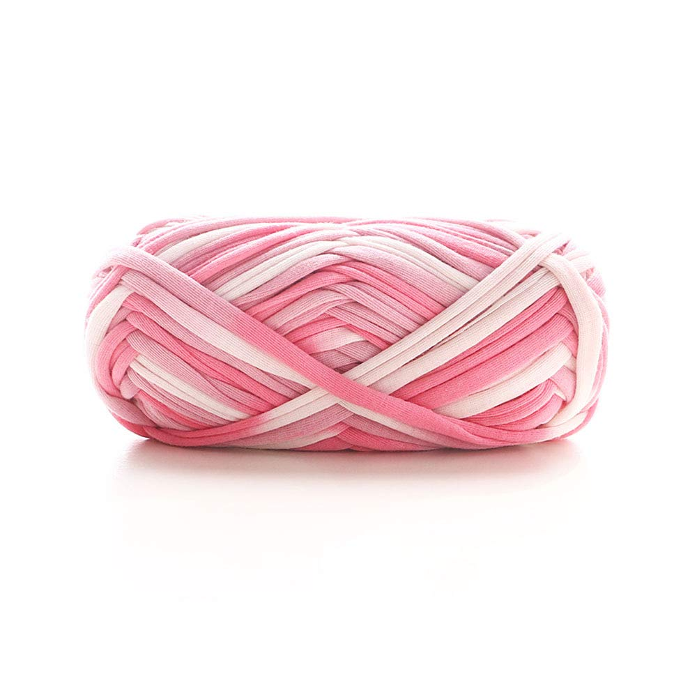 Amazoncom T Shirt Yarn Spaghetti Yarn Crochet Bag Yarn Backpack