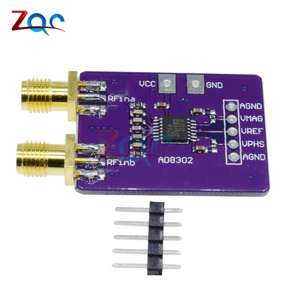 AD8302 Amplitude Phase RF Detector Module IF 2 7GHz Phase Detection