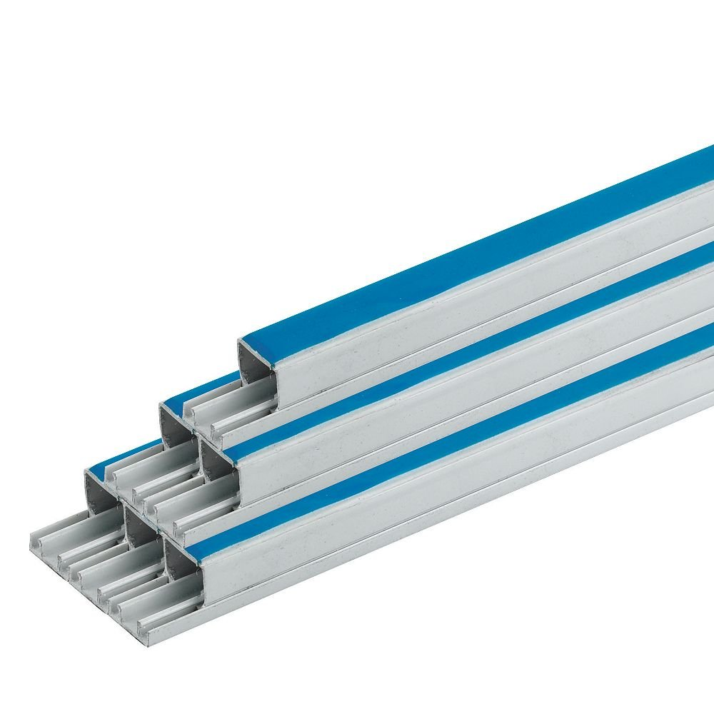 12 x 8mm 1m Length of Self Adhesive Trunking from Bristol Communications and Electrical (12 x 8mm x 1m) Bristol Communications & Electrical