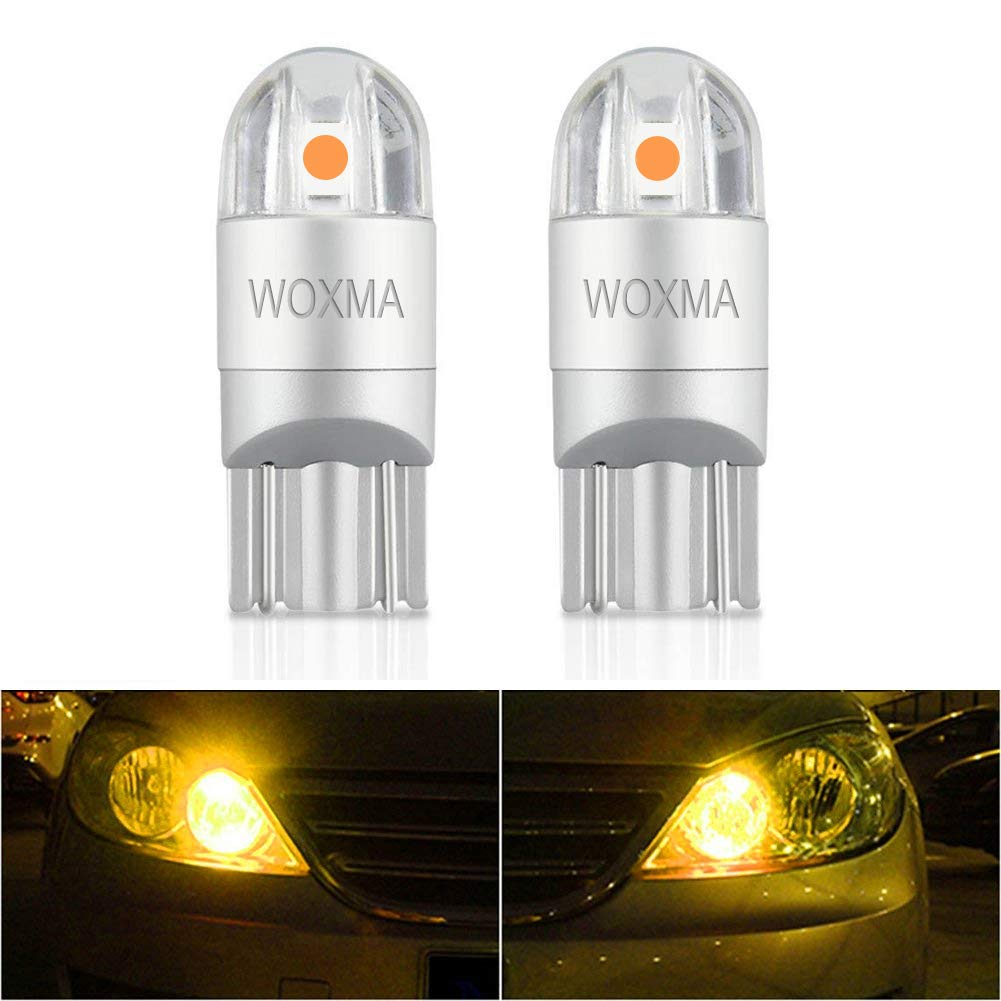 T10 LED Bulb Extremely Bright 3030 Chipset 194 168 SMD W5W LED Wedge Light 1.5W 12V License Plate Light Turn Light Signal Light Trunk Lamp Clearance Lights Reading lamp (2pcs