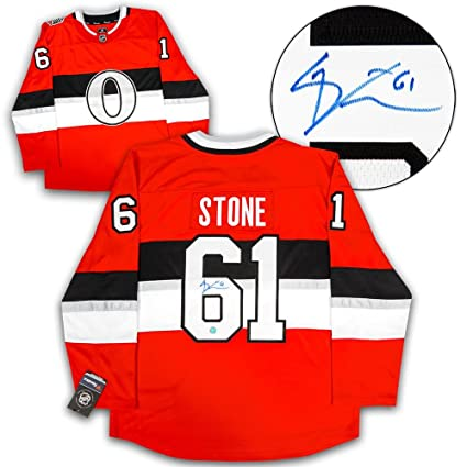 Mark Stone Autographed Jersey - NHL 100 Classic Fanatics Replica ... 806b81bfa94