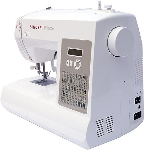Maquina de Coser Electronica Singer Brilliance 6180, 80 Programas ...