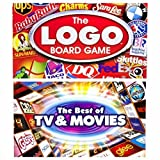 Logo Board Game and Best of Movies & TV Board Game (Two Games Bundle)