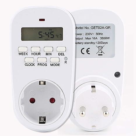 riscaldamento e altri Timer digitale 1 pezzo per luci ventilatori