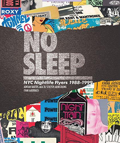 No Sleep is a visual history of the halcyon days of New York City club life as told through flyer art. Spanning the late 80s through the late 90s, when nightlife buzz travelled via flyers and word of mouth, No Sleep features a collection of artwork f...