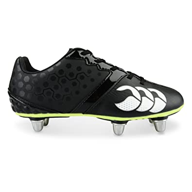 check out 07555 a4bb2 Canterbury Phoenix Club 6 Stud, Boys Rugby Shoes, Black, 5.5. UK