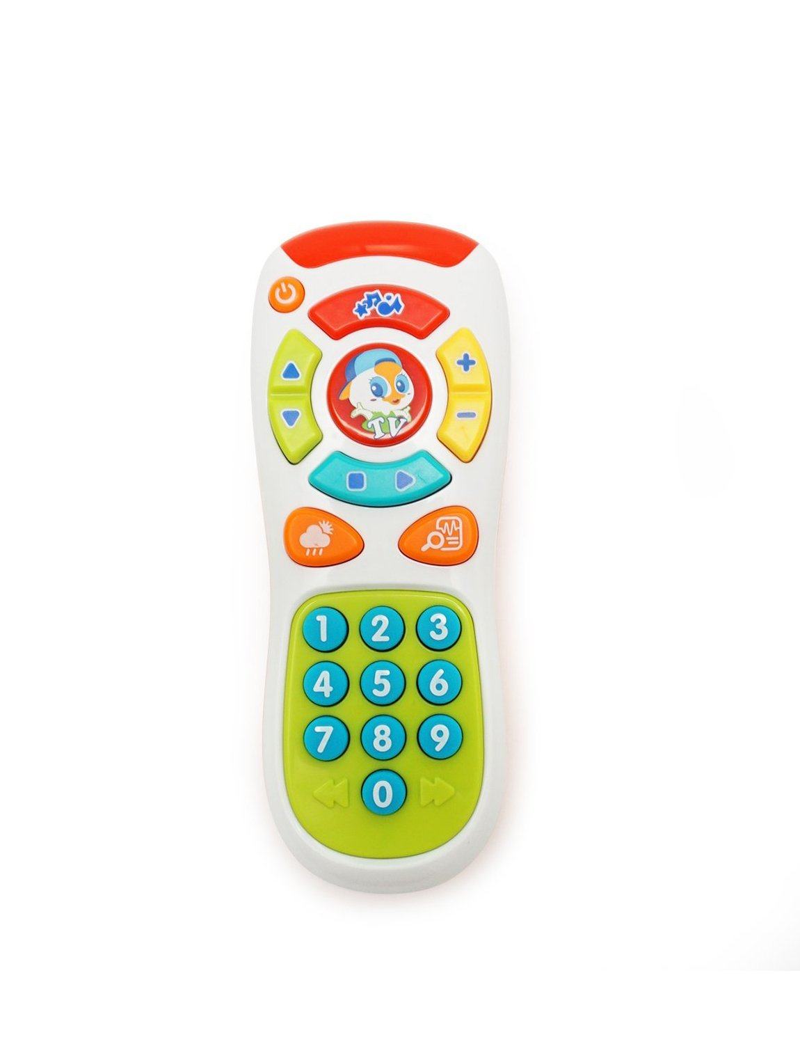KONIG KIDS Click & Learn Remote Educational Toy Baby 6 Months +