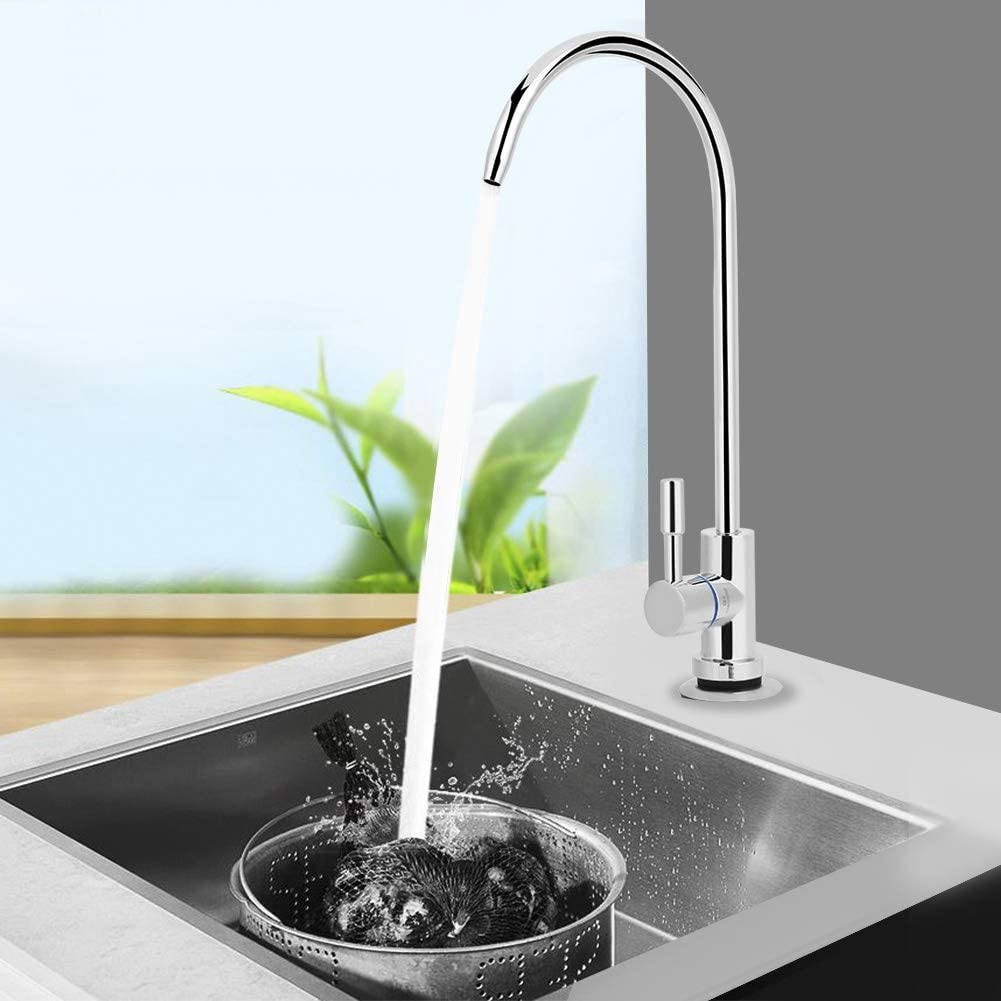Water Faucet Mini Swan Neck Drinking Water Filter Tap Reverse Osmosis Purifier Filtration Drinking Water Filter Faucet