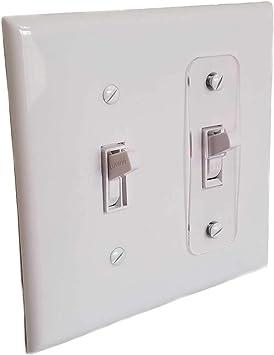Amazon.com: Toggle Switch Light Switch Locks, Child-Safe, Residential,  Lighting, Ect.: Home ImprovementAmazon.com